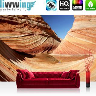 liwwing Vlies Fototapete 350x245 cm PREMIUM PLUS Wand Foto Tapete Wand Bild Vliestapete - Sand Düne Wüste - no. 233