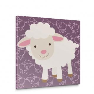 Leinwandbild Schafe Tiere Märchen Kinder | no. 5007