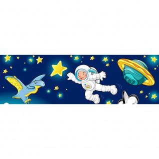 Leinwandbild Little Space Explorers Weltraum Star Weltall Kosmonaut Mond Sterne   no. 89 - Vorschau 3