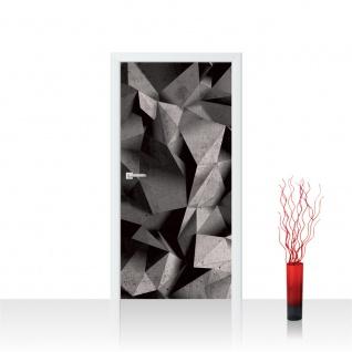 Türtapete - Abstrakt Rechtecke 3D Optik | no. 894