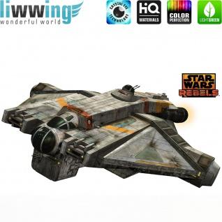Wandsticker Disney Star Wars - No. 4639 Wandtattoo Sticker Kinderzimmer Laserschwert Weltall Raumschiffe Jungen