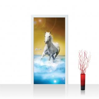 Türtapete - Pferd Wasser | no. 1014