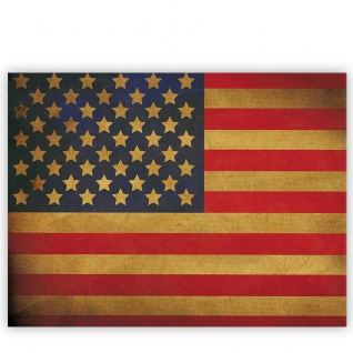 Leinwandbild Star Spangled Banner Flagge USA Amerika | no. 3451 - Vorschau 2