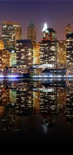 Türtapete - New York Lights Skyline New York City USA Amerika Big Apple | no. 20 - Vorschau 5