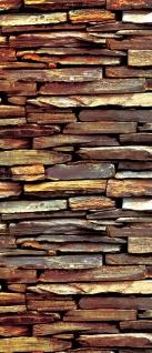 Türtapete - Steinwand Steine   no. 422 - Vorschau 5