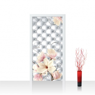 Türtapete - Blumen Blüten Diamant | no. 950