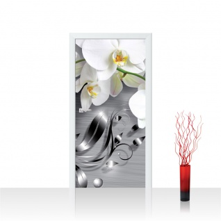 Türtapete - Ornament Orchidee   no. 603