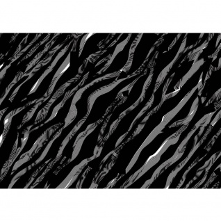 Fototapete Illustrationen Tapete Abstrakt Wellen schwarz-weiß Muster grau | no. 361