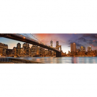 Leinwandbild New York Bridges Skyline New York City USA Amerika Big Apple | no. 21 - Vorschau 3