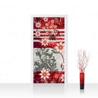 Türtapete - Ornamente Blumenranke   no. 302