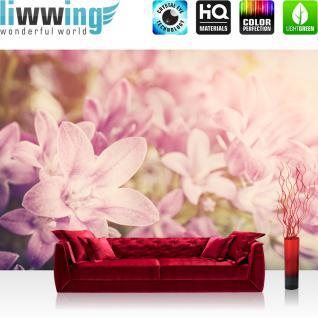 liwwing Vlies Fototapete 350x245 cm PREMIUM PLUS Wand Foto Tapete Wand Bild Vliestapete - Blumen Blüte Natur - no. 195