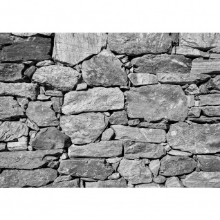 Fototapete Black and White Stone Wall Steinwand Tapete Steinmauer Steine Steinwand Steinoptik 3D pink   no. 8