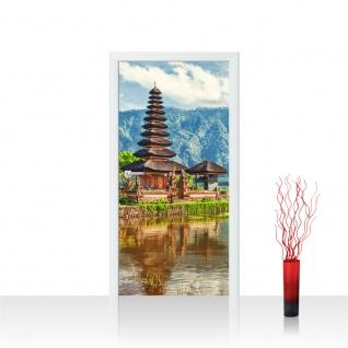 Türtapete - Bali Tempel Wasser Natur | no. 248