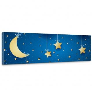 Leinwandbild Dreaming Night Kinder Sternenhimmel Stars Sterne Leuchtsterne   no. 120