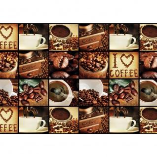 Fototapete Kaffee Tapete Fotoreihe Kaffee Bohnen Trinken braun | no. 3142