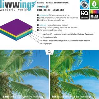 Wandsticker - No. 4835 Wandtattoo Sticker Windmühle bunt Illustration Bauernhof Tierem Kuh Schaf - Vorschau 3