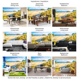 liwwing Vlies Fototapete 416x254cm PREMIUM PLUS Wand Foto Tapete Wand Bild Vliestapete - Meer Tapete Strand Dünen Wasser Himmel beige - no. 2695 - Vorschau 5