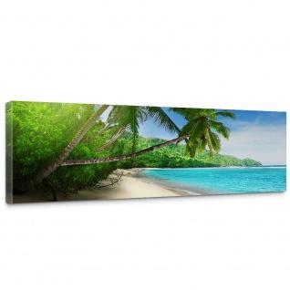 Leinwandbild Paradise Beach Strand Meer Palmen Beach 3D Ozean Palme   no. 5