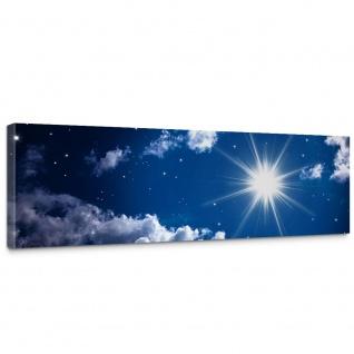 Leinwandbild Romantic Stars Sternenhimmel Stars Sterne Leuchtsterne Nachthimmel   no. 23