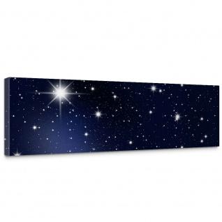 Leinwandbild A Million Stars Sternenhimmel Stars Sterne Leuchtsterne Nachthimmel   no. 28