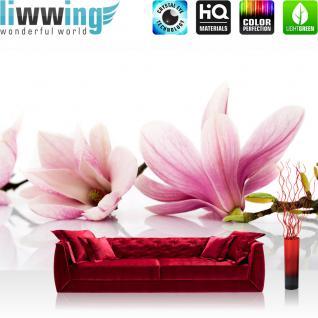 liwwing Vlies Fototapete 400x280 cm PREMIUM PLUS Wand Foto Tapete Wand Bild Vliestapete - Blumen Orchidee Natur - no. 202