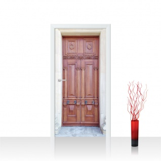 Türtapete - Sonstiges Tür Holz Alt Antik | no. 4275