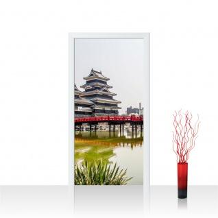 Türtapete - Japan Turm Kaiser Wasser Natur | no. 253