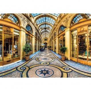 Fototapete Architektur Tapete Geschäfte Läden Innenraum Vintage Architektur gelb | no. 2748 - Vorschau 1