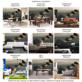liwwing Fototapete 254x168 cm PREMIUM Wand Foto Tapete Wand Bild Papiertapete - Wellness Tapete Wasser Steine flache Steine Sonnenlicht grau - no. 2846 - Vorschau 5
