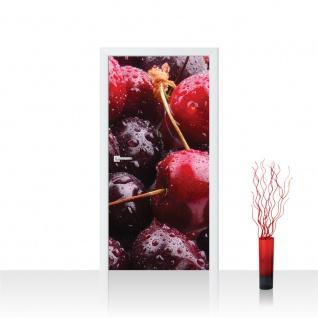 Türtapete - Kirschen Früchte Obst   no. 582