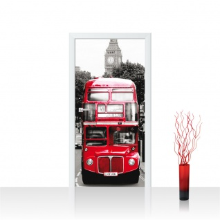 Türtapete - London Bus   no. 286