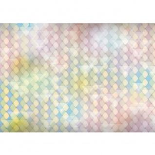 Fototapete Illustrationen Tapete Abstrakt Rechtecke klein Dreiecke Formen bunt Muster Illustrationen rosa | no. 393