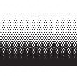 Fototapete Illustrationen Tapete Abstrakt Ornamente Punkte Muster schwarz-weiß schwarz - weiß | no. 402