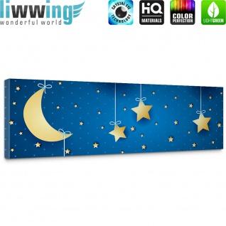 Leinwandbild Dreaming Night Kinder Sternenhimmel Stars Sterne Leuchtsterne | no. 120 - Vorschau 5