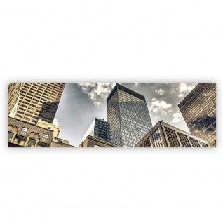 Leinwandbild Manhattan Skyscrapers NYC Hochhäuser Streetview New York Skyline | no. 54 - Vorschau 2