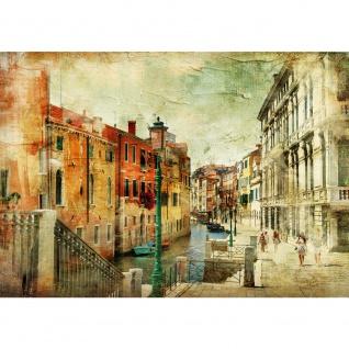 Fototapete Venedig Tapete Venedig Italien Romantisch Gebäude braun | no. 257