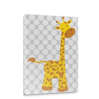 Leinwandbild Giraffe Märchen Tier Kinder | no. 5012