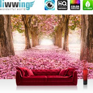 liwwing Vlies Fototapete 350x245 cm PREMIUM PLUS Wand Foto Tapete Wand Bild Vliestapete - Steinwand Steine Wand - no. 151