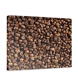 Leinwandbild Kaffee Kaffeebohnen Braun Aromatisch | no. 176
