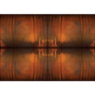 Fototapete Texturen Tapete Metall Streifen Vintage ocker   no. 2130