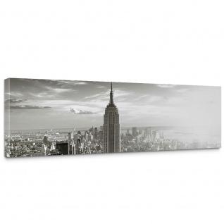 Leinwandbild Manhattan Skyline New York City USA Amerika Empire State Building | no. 15