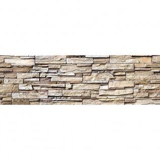 Leinwandbild Noble Stone Wall - natural Steinoptik Steinwand Stonewall Steine   no. 135 - Vorschau 3