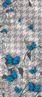 Türtapete - Abstrakt Zeichen Ornamente Schmetterling | no. 357 - Vorschau 5