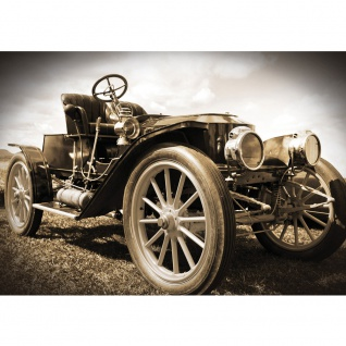 Fototapete Autos Tapete Oldtimer Auto Vintage sepia | no. 2571