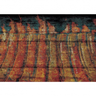 Fototapete Gemälde Tapete Abstrakt Kunst Gemälde bunt | no. 1254