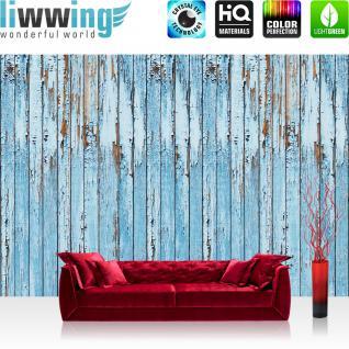 liwwing Vlies Fototapete 312x219cm PREMIUM PLUS Wand Foto Tapete Wand Bild Vliestapete - Kunst Tapete Abstrakt Kunst Eulen Farbe Sterne bunt - no. 2851