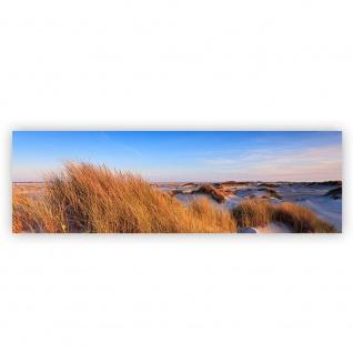 Leinwandbild Strand Düne Wasser Beach Ausblick | no. 246 - Vorschau 2
