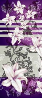 Türtapete - Abstrakt Ornamente Lilien | no. 440 - Vorschau 5