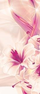 Türtapete - Abstrakt Sterne Blume Blüte Streifen | no. 942 - Vorschau 5