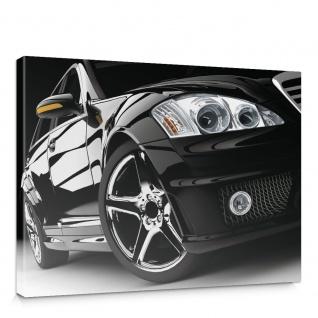 Leinwandbild Auto Modern Reifen Lichter Felgen Limousine   no. 2308